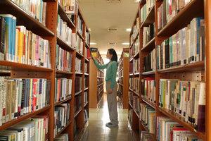 Auch große Buchsammlungen lassen sich verwalten.