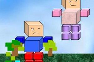 Wenn andere in Minecraft fliegen können, heißt das nicht, dass Sie es auch können.