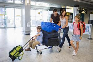 Auch bei Handgepäck die Beförderungsbestimmungen beachten