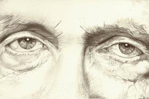 Gesichter sind sehr erfreuliche Modelle für realistische Zeichnungen.