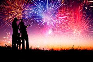 Mit altem Feuerwerk sollten Sie stets vorsichtig sein.