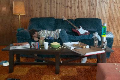 Locken Sie Ihren Teenie doch mal von der Couch.