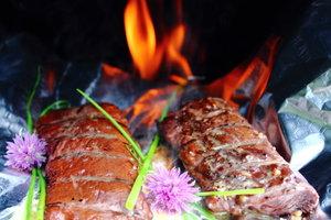 Aus Rentierfleisch machen Sie leckere Gerichte.