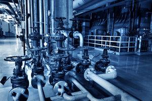 Wasser ist immer kalkhaltig und Rohre sollten regelmäßig entkalkt werden.
