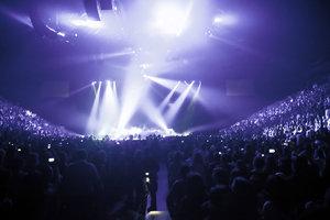 Coldplay-Konzerte sind für grandiose Lichteffekte bekannt.