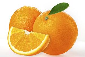 Die wichtigste Zutat für die Marmelade sind natürlich die Orangen.