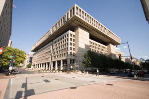 Das J. Edgar Hoover Gebäude, Sitz der FBI