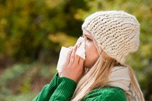 Frische Luft und Sonne tun auch bei einer Erkältung gut.