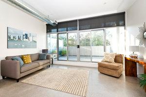 Hauptnutzfläche - der Wohnraum zeigt eine eindeutige Nutzfläche.