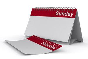Sonntagnachmittags brauchen Sie keine Langeweile verspüren, beschäftigen Sie sich stattdessen.
