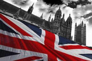 Die Union Flag ist die Fahne des Vereinigten Königreichs von Großbritannien und Nordirland.