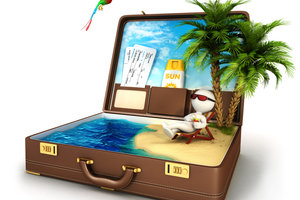Karibik-Träume können wahr werden - bezahlter Urlaub auch als Minijobber.