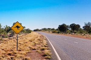 In Australien können Sie wahre Einsamkeit kennenlernen.