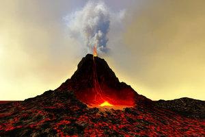 """Vulkane werden von der Asthenosphäre """"gespeist""""."""