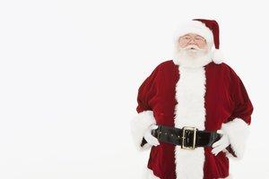 Der Weihnachtsmann, ein Bild, das die Werbung schuf