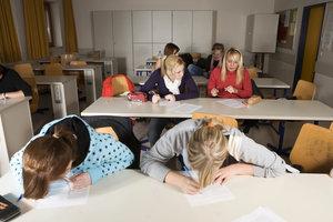 Das berufliche Gymnasium führt zum allgemeinen Abitur.