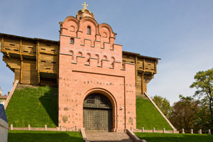 """Dem Großen Tor von Kiew hat Mussorgsky in seinen """"Bildern einer Ausstellung"""" ein Denkmal gesetzt."""