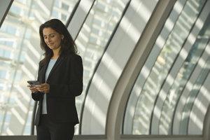Smartphones können Nachrichten auch über günstige Programme und nicht über SMS versenden.