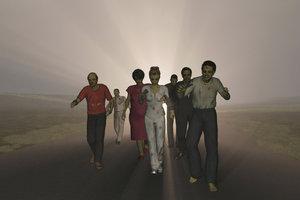 Ein Zombie kommt selten allein.