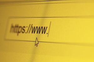 Manche Fehler entstehen durch die falsche Eingabe einer Internetadresse.