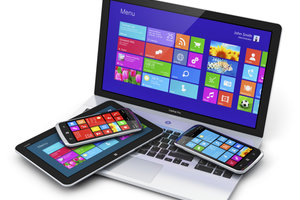 Windows 8 ist vor allem bei Tablets zu gebrauchen.