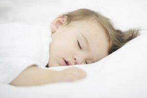 Babys haben öfters Schlafläuse.