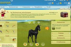 Howrse - ein Spiel für Pferdefans