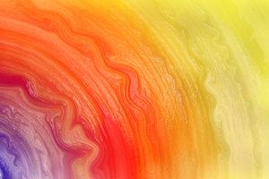 Lavieren schafft brilliante Farbverläufe in der Malerei.