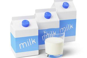 Durch Homogenisierung wird die natürliche Aufrahmung der Milch vermieden.