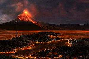 Der pazifische Feuerring ist ein Vulkangebiet