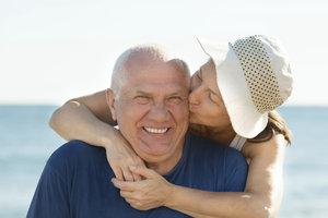 Ein ausgeglichenes Leben ist auch für Männer im fortgeschrittenen Alter wichtig,