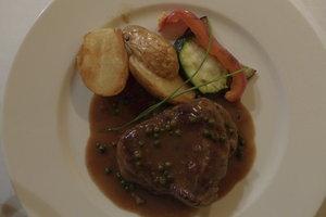 Metaxasauce schmeckt auch prima zu Steak.