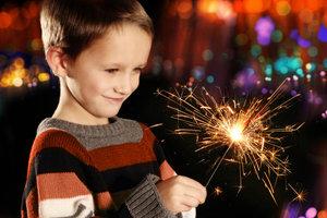 Haben Sie ein Kind, werden Sie nur zu dritt feiern - und das kann viel Spaß machen.