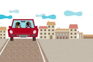 Außerhalb geschlossener Ortschaften gelten spezielle Regeln für das Parken.