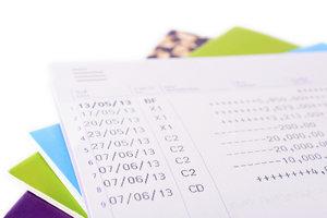 Jede Transaktion können Sie anhand Ihrer Kontoauszüge kontrollieren.