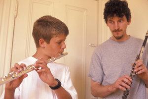 Die Querflöte gehört zu den beliebtesten Instrumenten an der Musikschule.