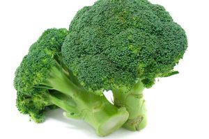 Brokkoli ist ein sehr gesundes Kohlgemüse.