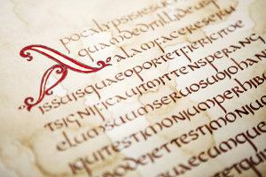 Alte Schriften sind oftmals Manuskripte.