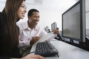 Eine IT-Affinität hat mit Computern und deren Programmen zu tun.