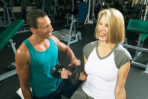 Protein-Shakes sind besonders im Muskelaufbausport beliebt.