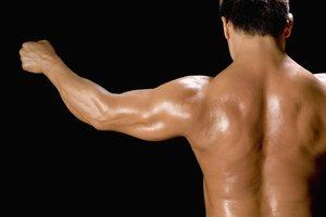 So schöne Muskeln können Sie mit pflanzlichem Eiweiß bekommen.