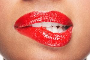 Schöne Lippen sind verführerisch.