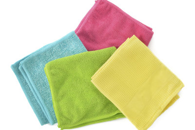 Ein Mikrofasertuch ist ideal für die iPad-Reinigung.