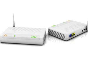 WLAN-Router nutzen verschiedene Übertragungsarten.
