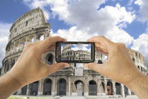 Mit der iPhone-Kamera der neueren Smartphone-Generationen können Sie richtig gute Fotos aufnehmen.
