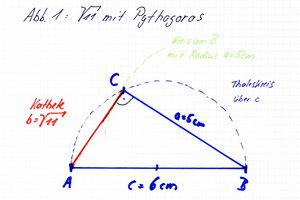 Wurzel 11 - Konstruktion mit Pythagoras