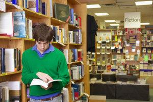 Toller Arbeitsort für Bücherfans - eine Buchhandlung