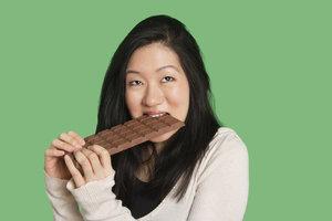 Bereits der Genuss der Schokolade reicht manchen zum Glücklichsein aus.