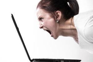 Ein schwarzer Desktop sorgt für Ärger.