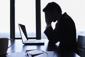 Stress kann die Verdauung stören.